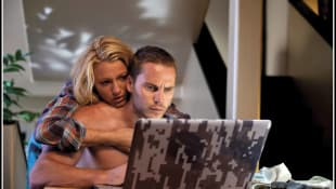 Taylor Kitsch and Blake Lively in 'Savages'.