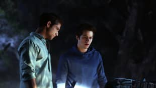 Tyler Posey and Dylan O'Brien in 'Teen Wolf'