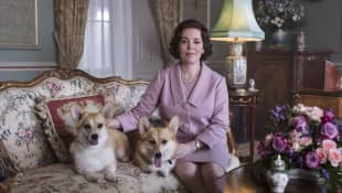 'The Crown's' Olivia Colman and Gillian Anderson On Meeting Actual Royals