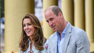 The Duke And Duchess Of Cambridge Met With 'GMB's' Kate Garraway