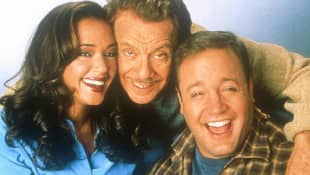 Leah Remini, Jerry Stiller and Kevin James
