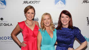 Jenna Fischer, Angela Kinsey and Kate Flannery