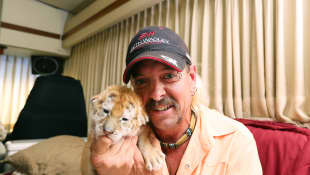 'Tiger King's' Joe Exotic Released From Isolation.