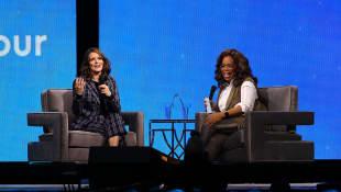 Tina Fey and Oprah Winfrey