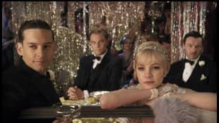Tobey Maguire, Leonardo DiCaprio, Carey Mulligan and Joel Edgerton in 'The Great Gatsby'