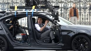 Tom Cruise on 'Mission Impossible 7' Set