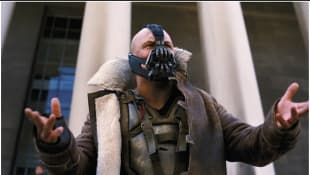 Tom Hardy in 'The Dark Knight Rises'