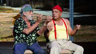 Cheech Marin and Tommy Chong