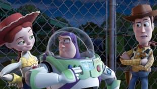 'Toy Story 3': Jessie, Woody y Buzz