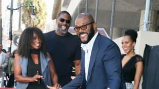 Tyler Perry, Idris Elba, Kerry Washington, and Crystal Fox