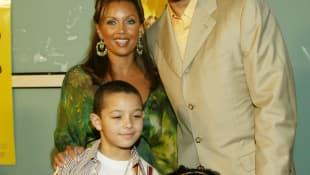Vanessa Williams, Rick Fox and Family