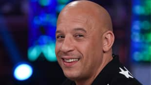 Vin Diesel With Hair: Pictures
