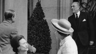 Wallis Simpson and Queen Elizabeth II