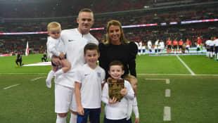 Wayne Rooney's Family
