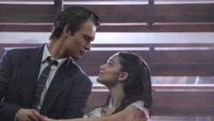 Ansel Elgort and Rachel Zegler in 'West Side Story' (2021)