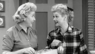 Lucille Ball and Vivian Vance on 'I Love Lucy'