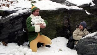 Will Ferrell and Daniel Tay in 'Elf'