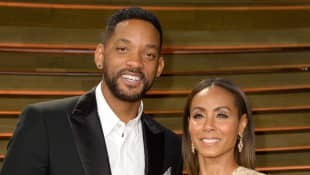 Will Smith and Jada Pinkett Smith attends the 2014 Vanity Fair Oscar Party hosted by Graydon Carter on March 2, 2014 in West Hollywood, California