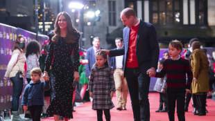 Príncipe William, duquesa Kate e hijos