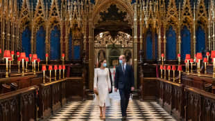 William And Kate Honour Frontline Workers At Westminster Abbey