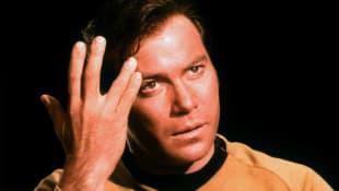William Shatner in 'Star Trek'