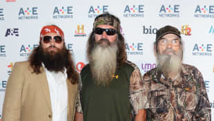 Willie Robertson, Phil Robertson, and Si Robertson