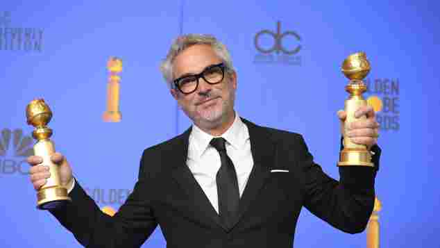 Alfonso Cuaron at the 76th Golden Globes