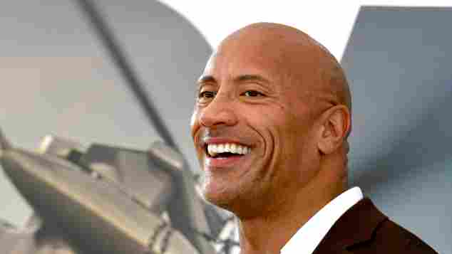 """Dwayne Johnson Shares Hilarious Throwback Photo: """"Drippin' Cool with My Buck Teeth"""""""