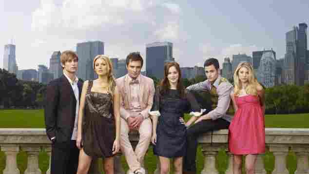Cast of 'Gossip Girl' Season 1 photocall 2007