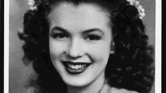 Marilyn Monroe in 1941.