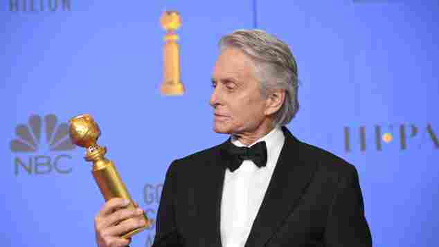 Micheal Douglas at the 76th Golden Globes