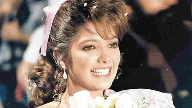 Adela Noriega en una escena de la telenovela 'Quinceañera'