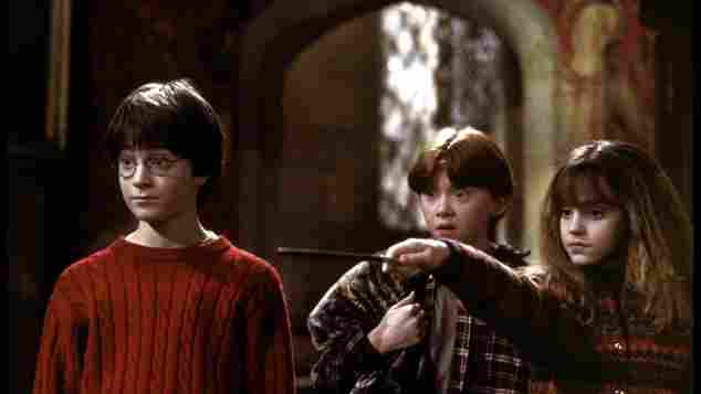 Daniel Radcliffe 'Harry Potter and the Sorcerer's Stone' 2001