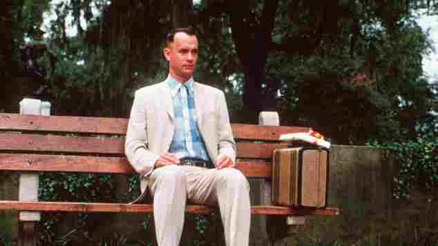 """Tom Hanks played """"Forrest Gump"""""""