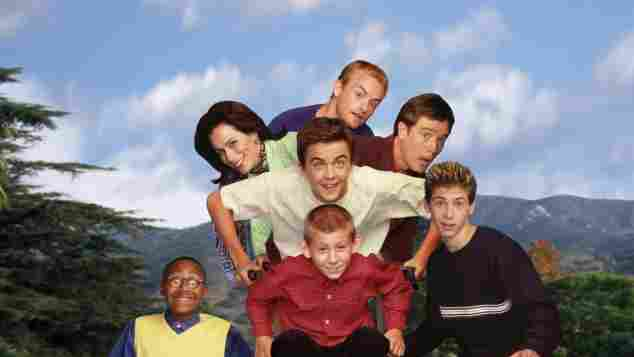 The cast of 'Malcolm in the Middle'.
