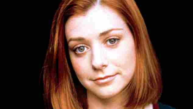 """Alyson Hannigan starred as """"Willow"""" in 'Buffy the Vampire Slayer'"""