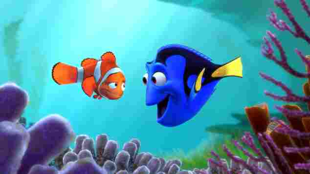 'Buscando a Nemo' Dory y Marlin