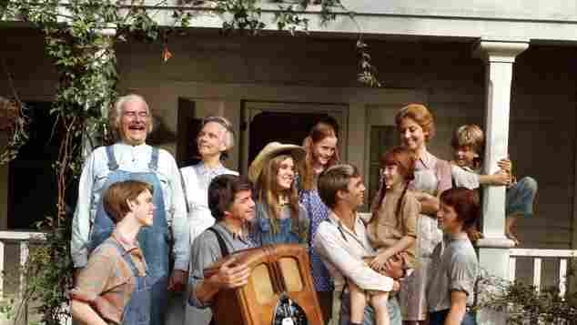 The cast of 'The Waltons'.