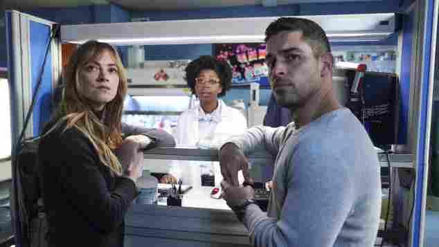 NCIS: Emily Wickersham, Diona Reasonover and Wilmer Valderrama
