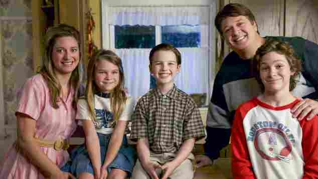 The Cast of 'Young Sheldon'.