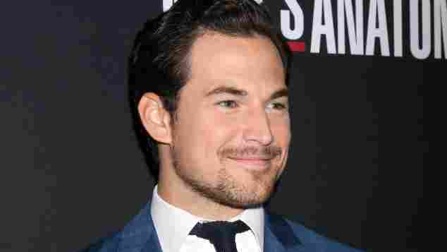 Giacomo Gianniotti at the 'Greys Anatomy' 300th Episode Event at Tao on November 4, 2017, in Los Angeles, CA.