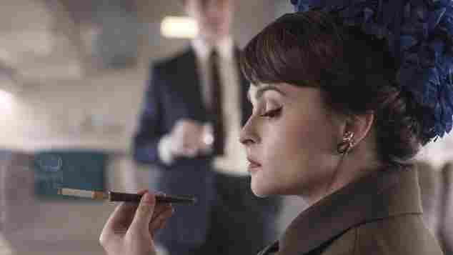 Helena Bonham Carter as Princess Margaret in Season 3 of The Crown.