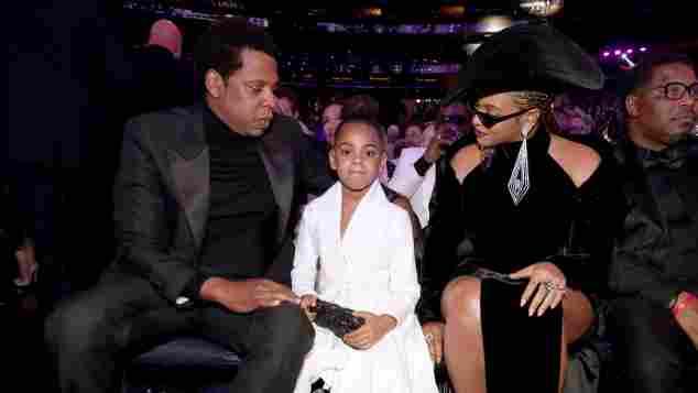 Jay-Z, Beyoncé and their daughter Blue Ivy Carter