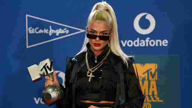 Loredana en los MTV EMA