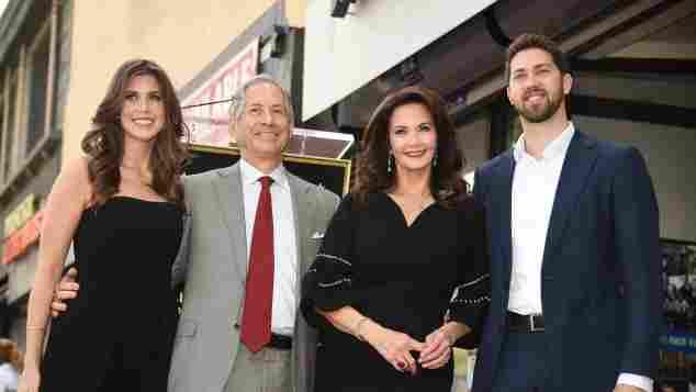 Lynda Carter, Robert A. Altman, Jessica Altman and James Altman