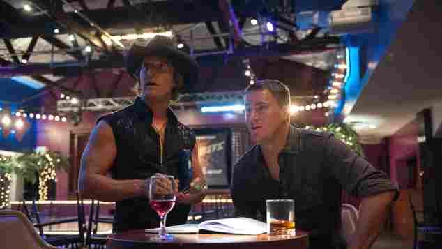 Channing Tatum y Matthew McConaughey en 'Magic Mike'