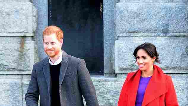 Harry and Meghan visit Birkenhead