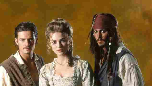Imagen promocional de 'Piratas del Caribe'