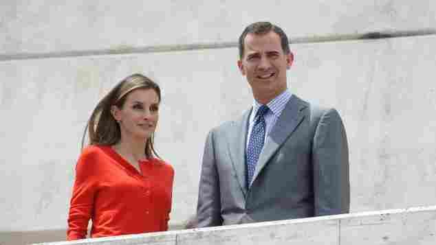 La Reina Letizia y el Rey Felipe VI en 2013