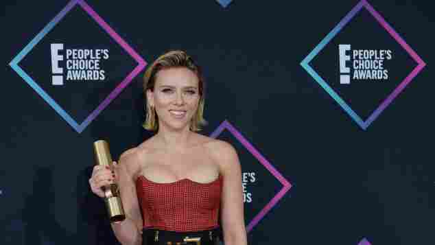 Scarlett Johansson en los People's Choice Awards 2018